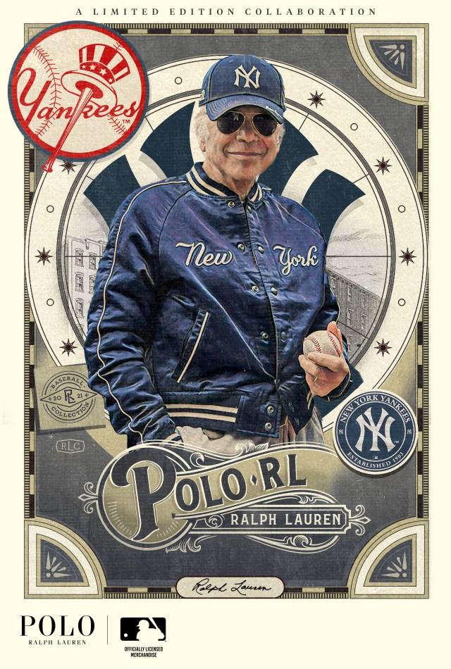 کارت بیس بال رالف لورن.