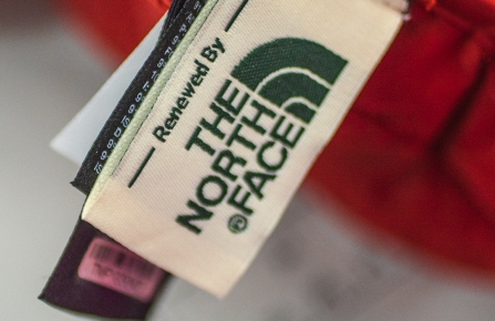 The North Face, reuse, sustainability, consumers, customers, inshore, online