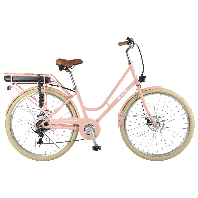 Retrospec Beaumont Rev City Electric Bike Step Through