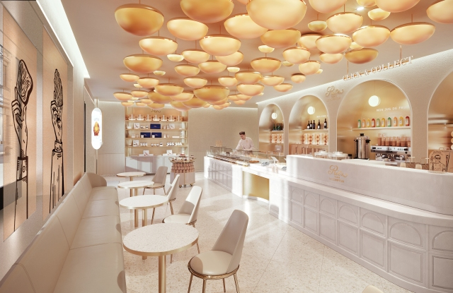 A rendering of the future Ritz Paris Le Comptoir on Rue Cambon.