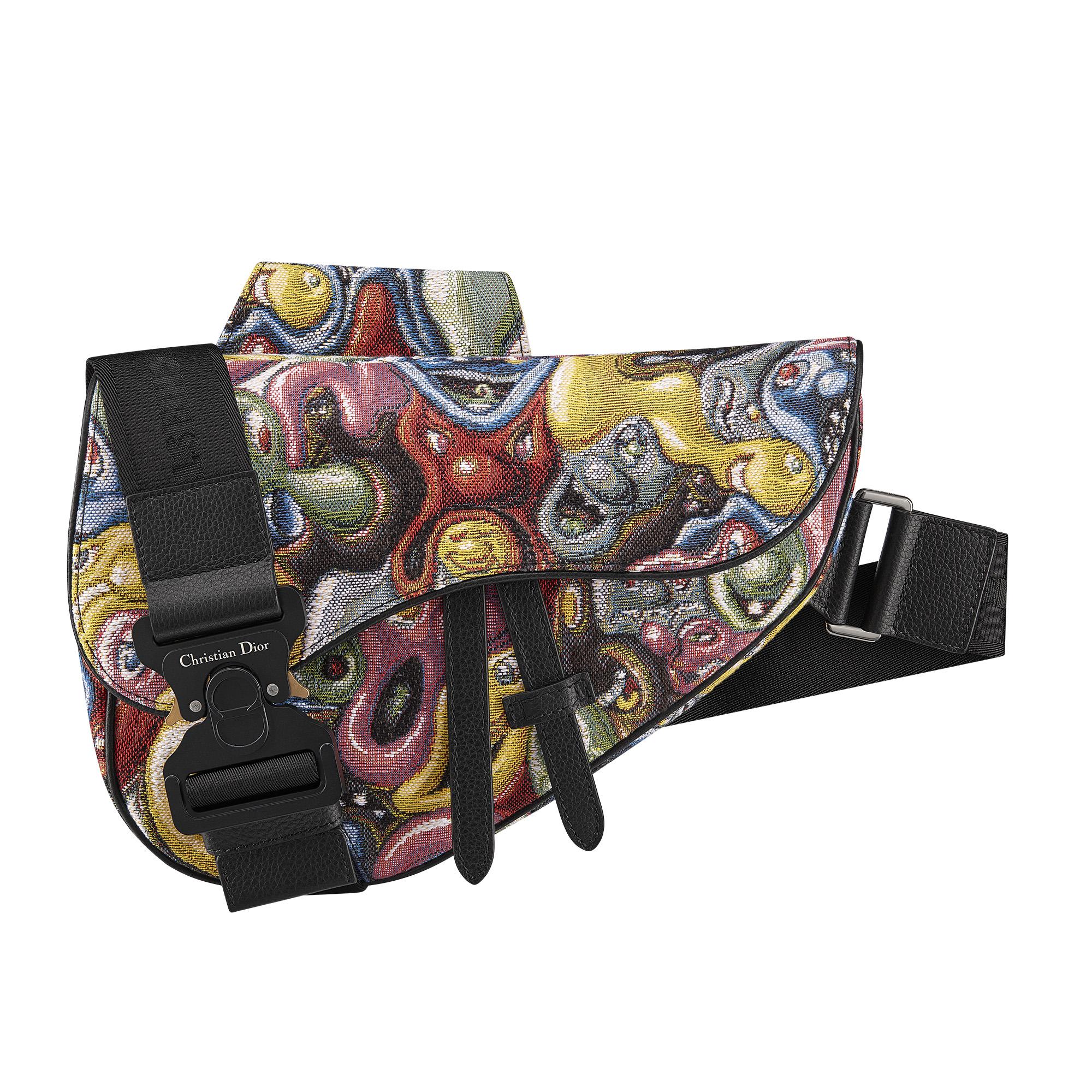 Dior X Kenny Scharf bag
