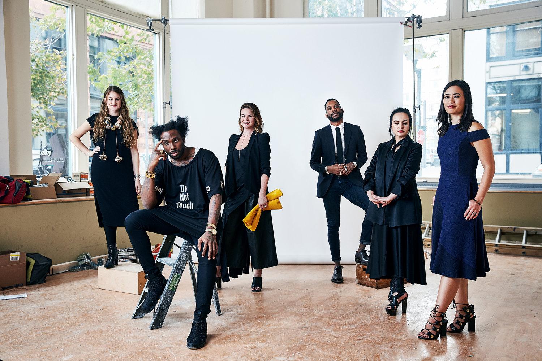 The Saint Louis Fashion Fund's inaugural designer class.