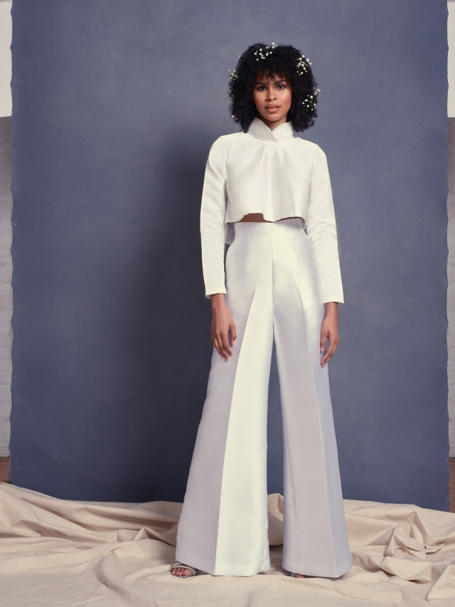 A look from Scorcesa Bridal Spring 2022