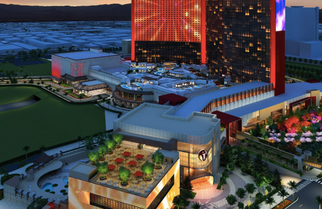 A rendering of the new Resorts World development.