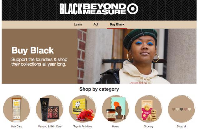 Target Black-owned businesses