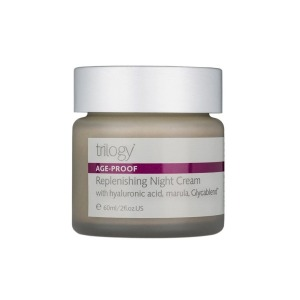 Best Natural Anti-Aging Creams, Trilogy Age-Proof Replenishing Night Cream