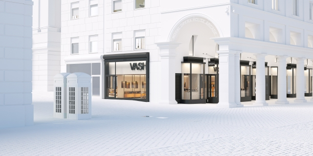 Vashi's new Covent Garden store