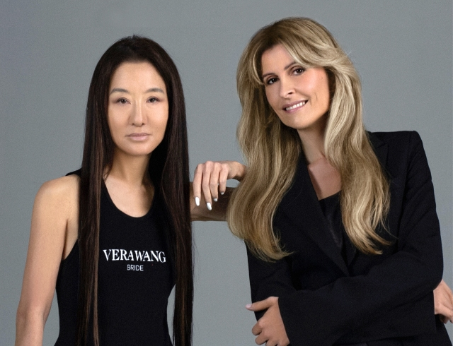 Vera Wang and Amandine Ohayon