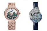 2021 Women's Watch Trends: Blue and Green Evening Bulgari and Cartier