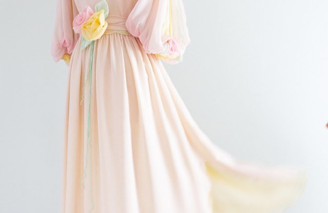 A dress from Xtabay's vintage clothing boutique.