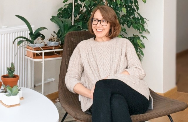 Zalando's director of sustainability, Kate Heiny.