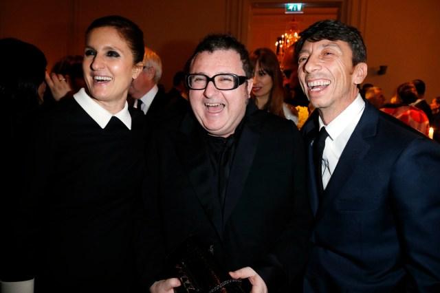 Maria Grazia Chiuri, Alber Elbaz and Pierpaolo Piccioli