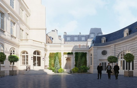 Interparfums' new Parisian headquarters