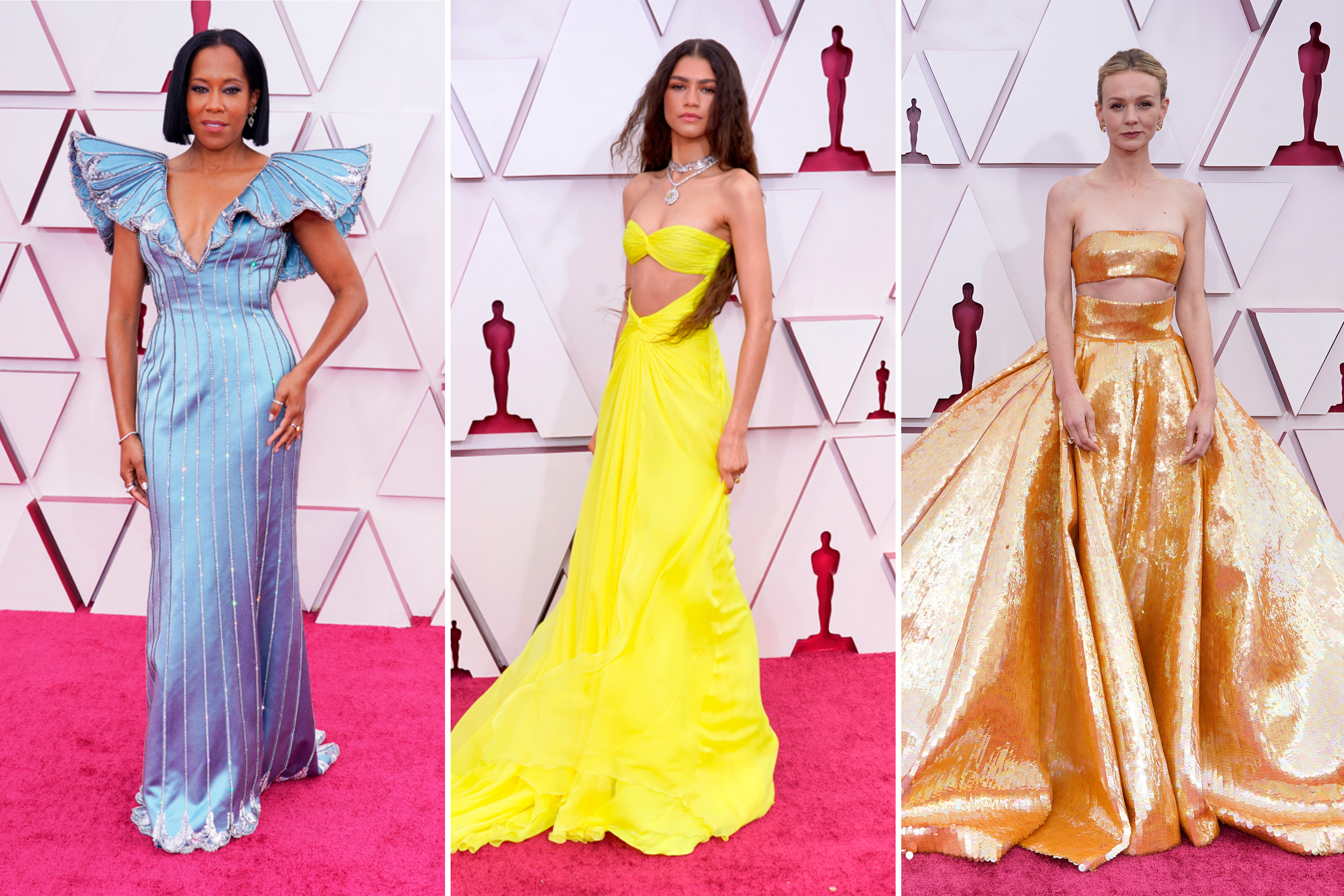Best Dressed Celebrities at the 2021 Oscars [PHOTOS] – WWD Gowns