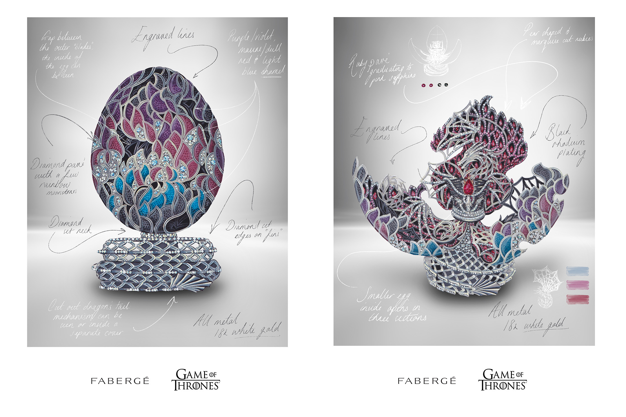 Fabergè x Game of Thrones