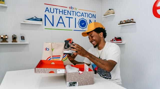 EBay's authentication station in Atlanta