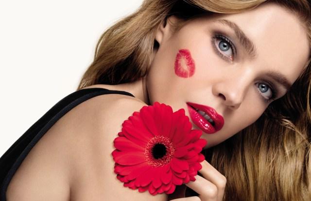Natalia Vodianova in Guerlain's KissKiss campaign