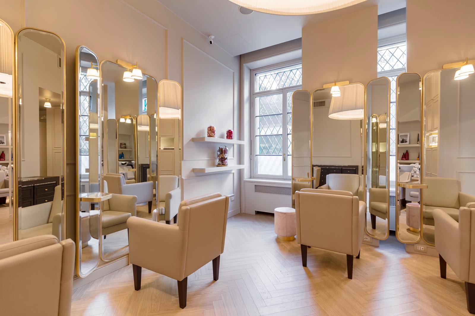 Beautick luxury beauty salon in Milan