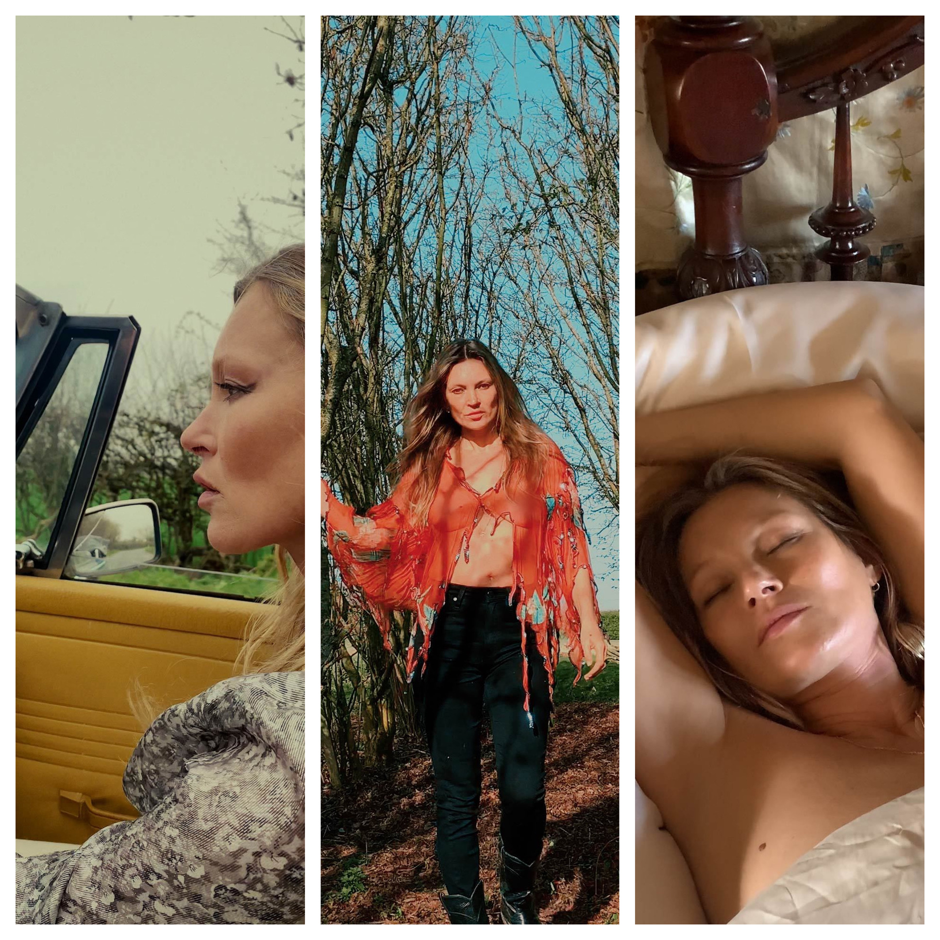 Kate Moss Releases NFT Videos