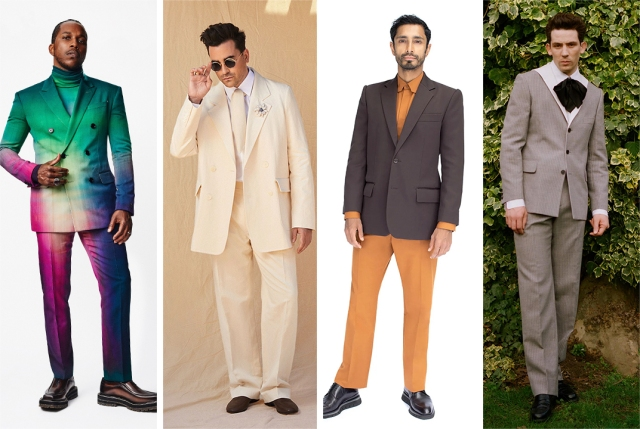 Men's Fashion at Awards Season: Leslie Odom Jr., Dan Levy and More