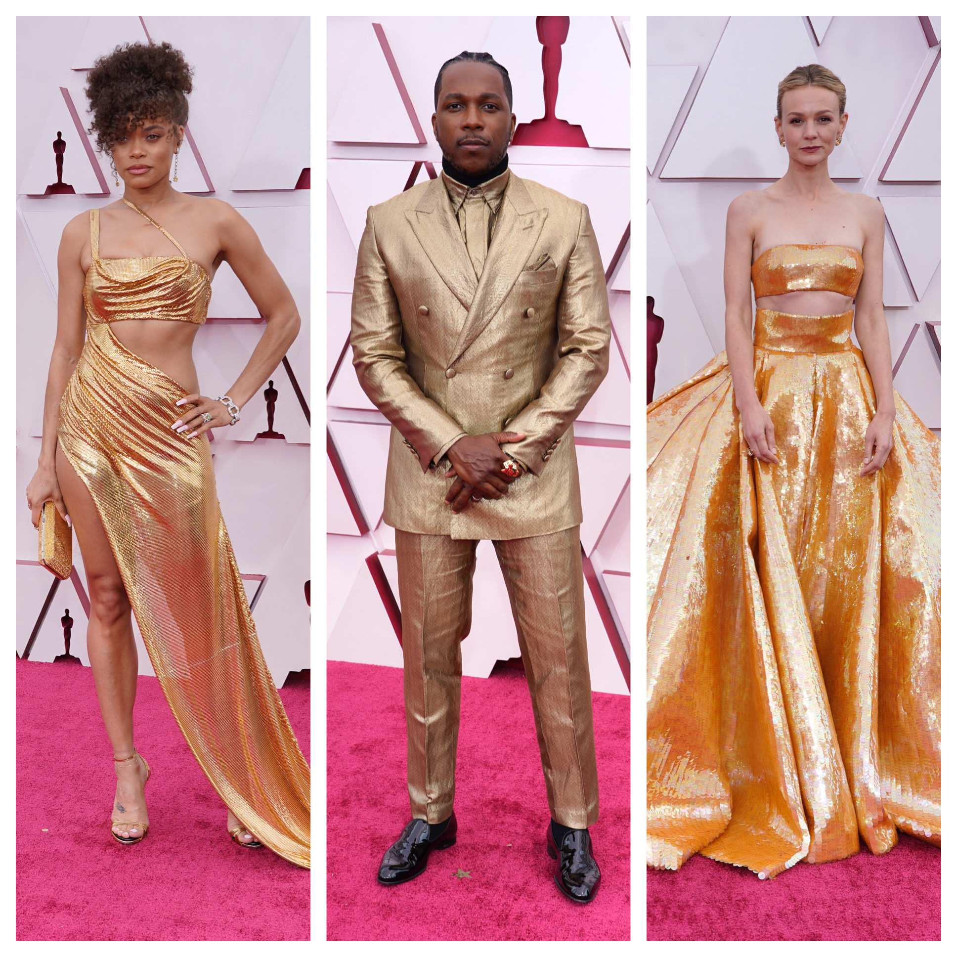 2021 Oscars Red Carpet Photos