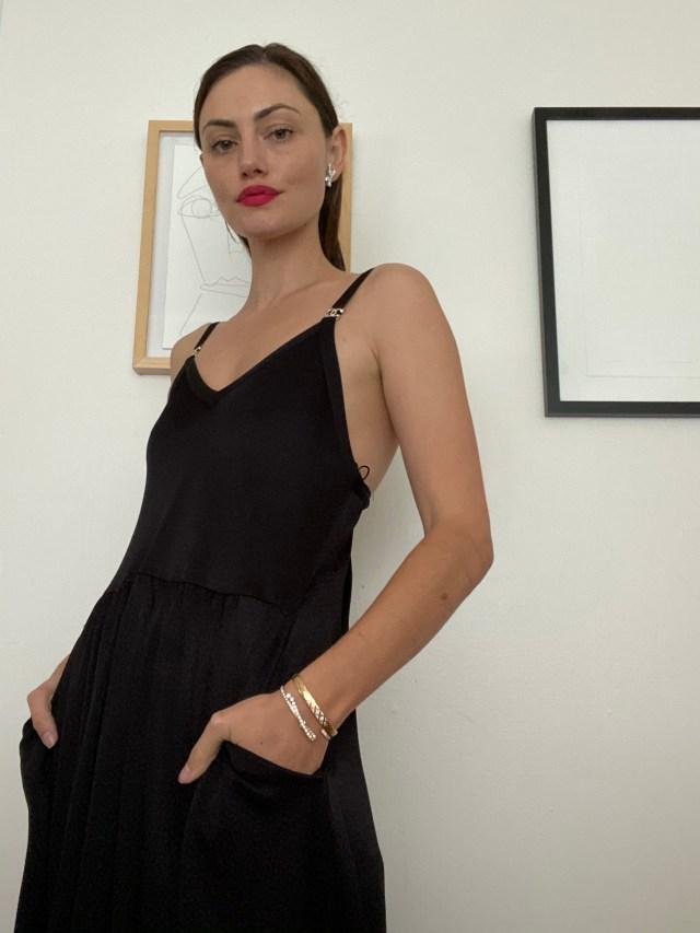 Chanel ambassador Phoebe Tonkin