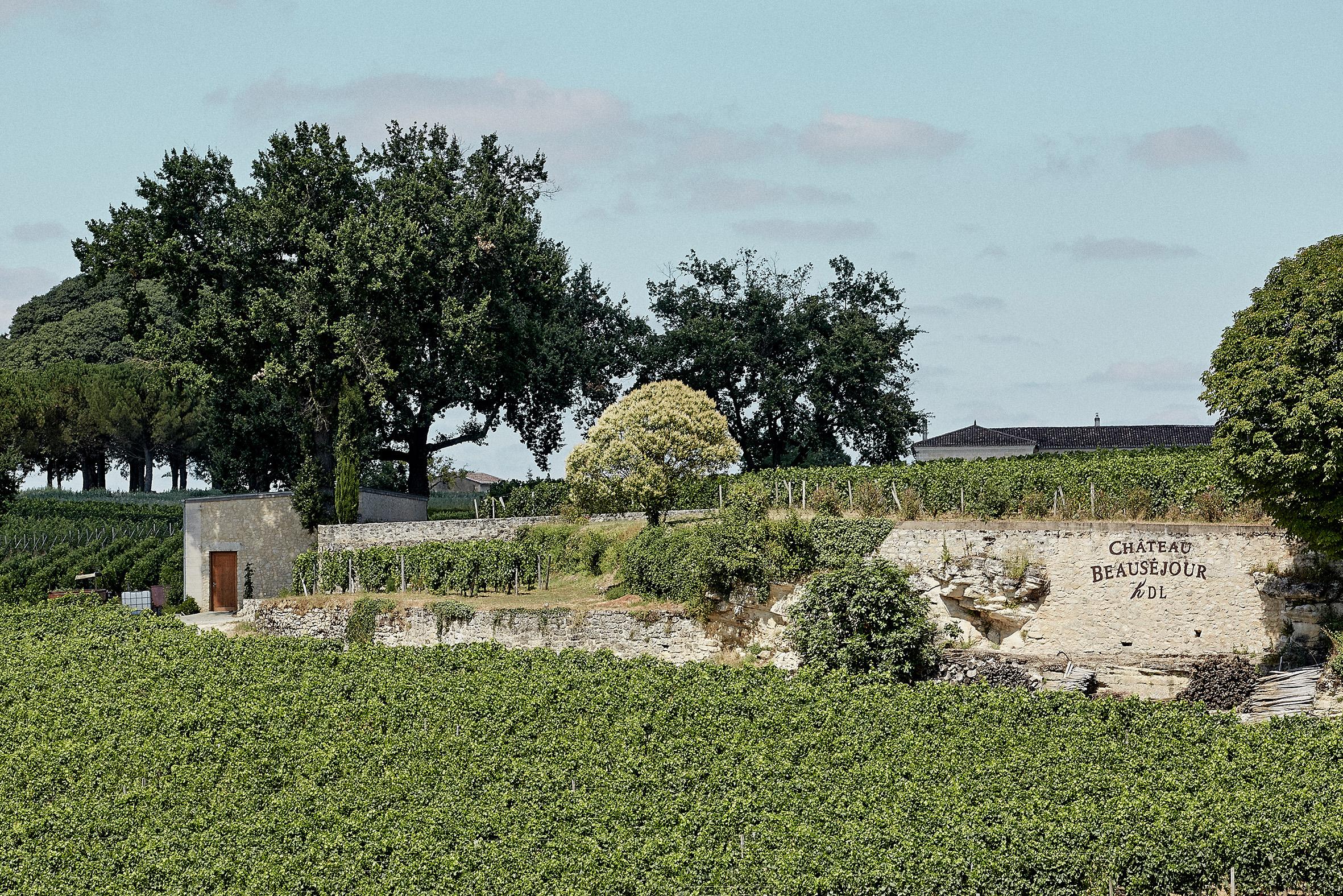At the Château Beauséjour