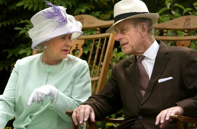 Queen Elizabeth II and Prince Philip, Duke of Edinburgh during a musical performance. The Royal couple will celebrate their platinum wedding anniversary on November 20, 2017.