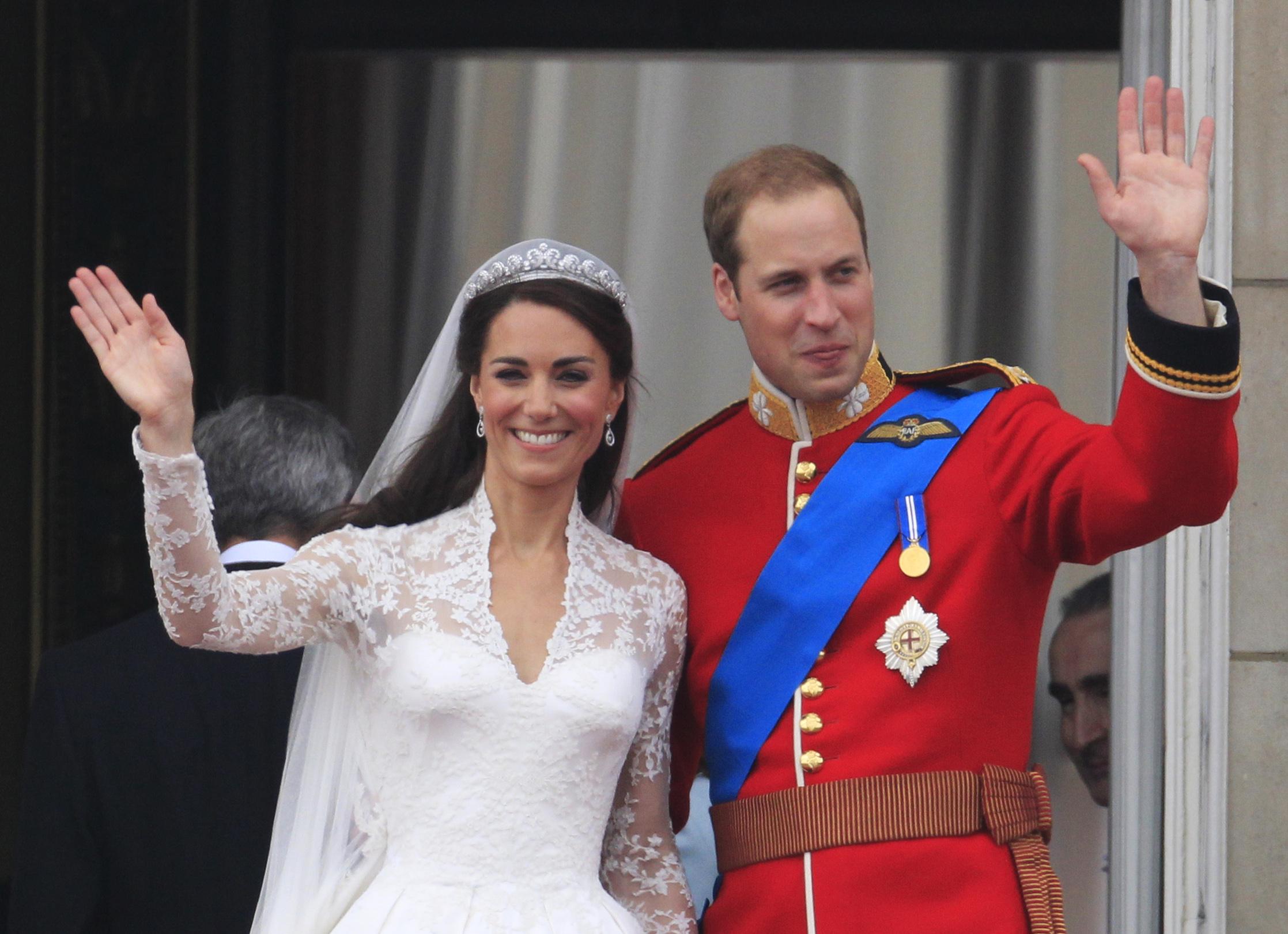 Prince William, Kate Middleton Royal Wedding Photos