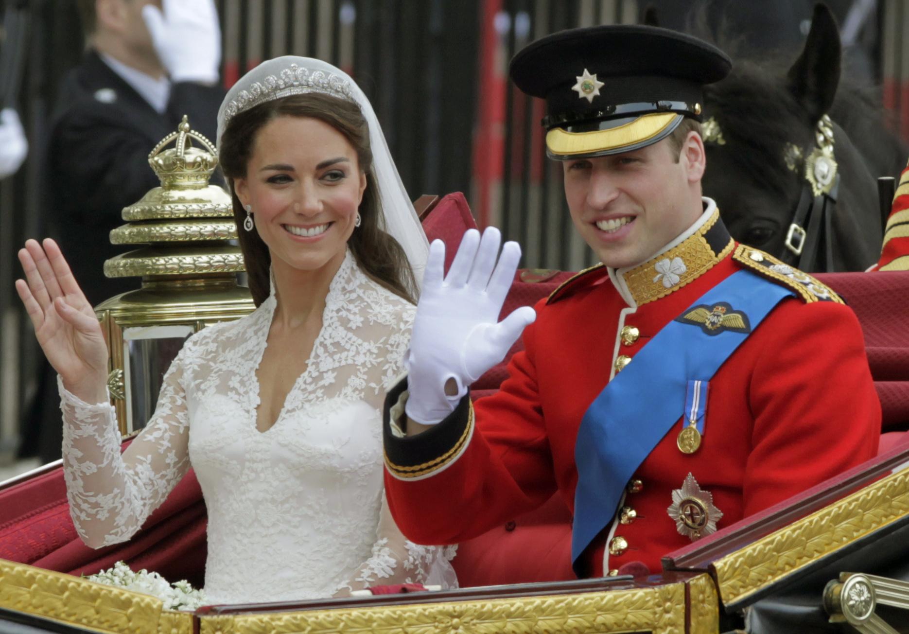 Prince William, Kate Middleton's Royal Wedding Anniversary