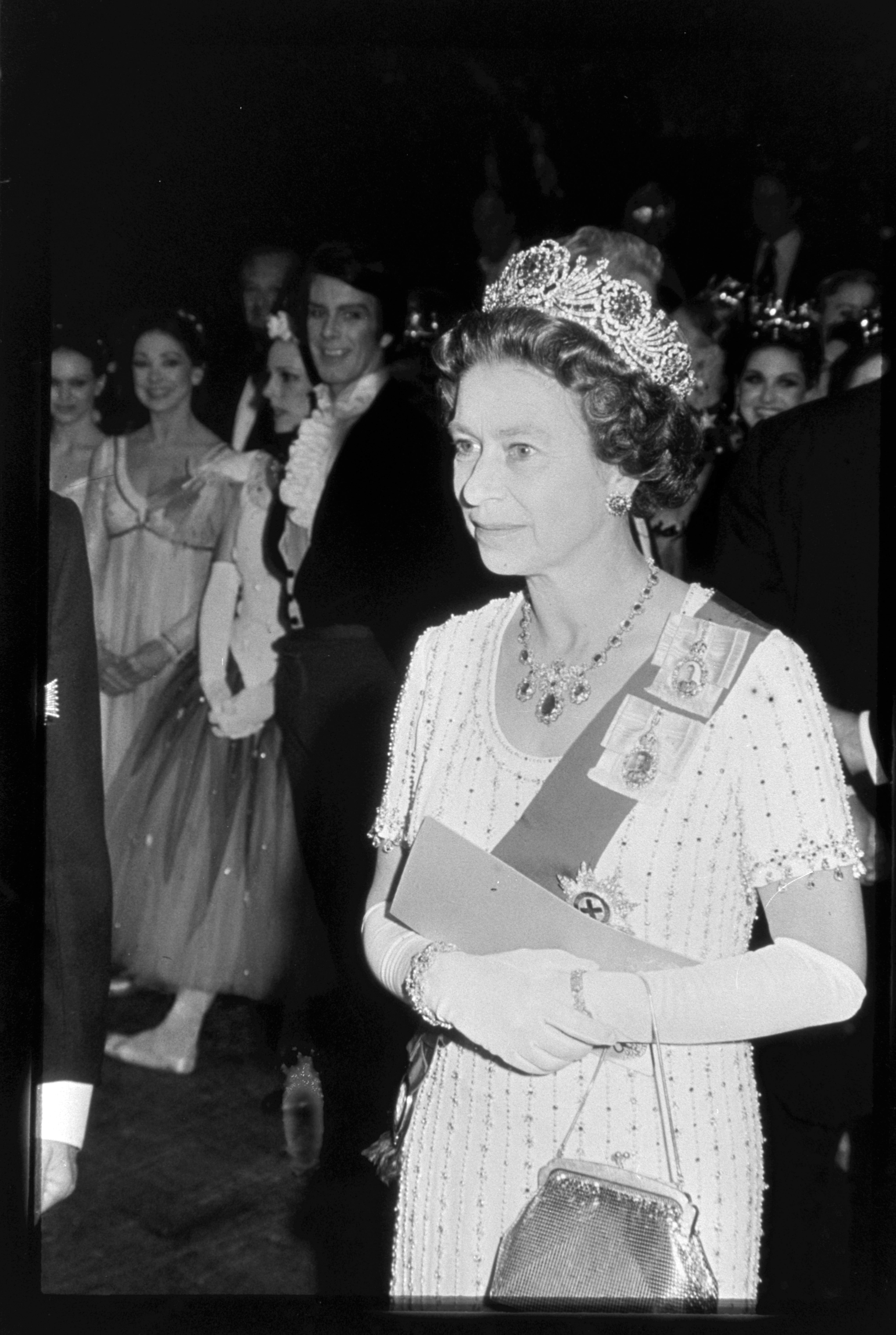 Photos of Queen Elizabeth II from the Fairchild Fashion Archives