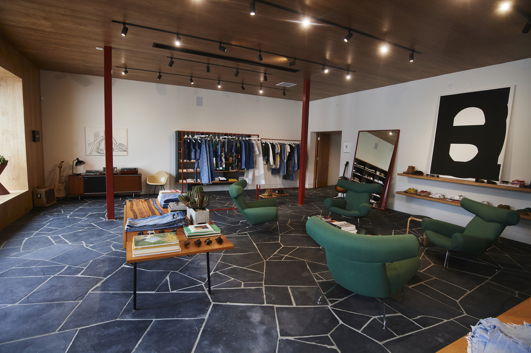 A look inside Re/Done's Melrose Avenue store.