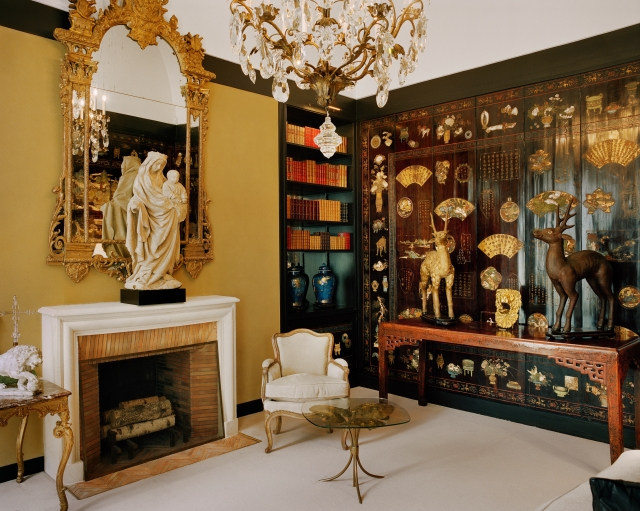 The study at Gabrielle Chanel's apartment on 31, rue Cambon in Paris.