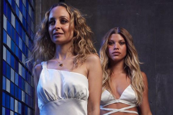 Nicole and Sofia Richie
