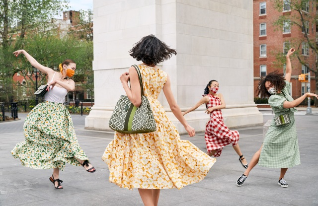 A still from Kate Spade New York's summer campaign.