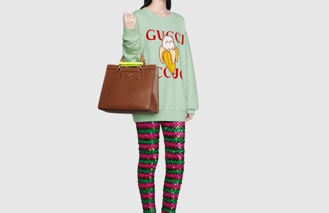 The Gucci x Bananya capsule collection