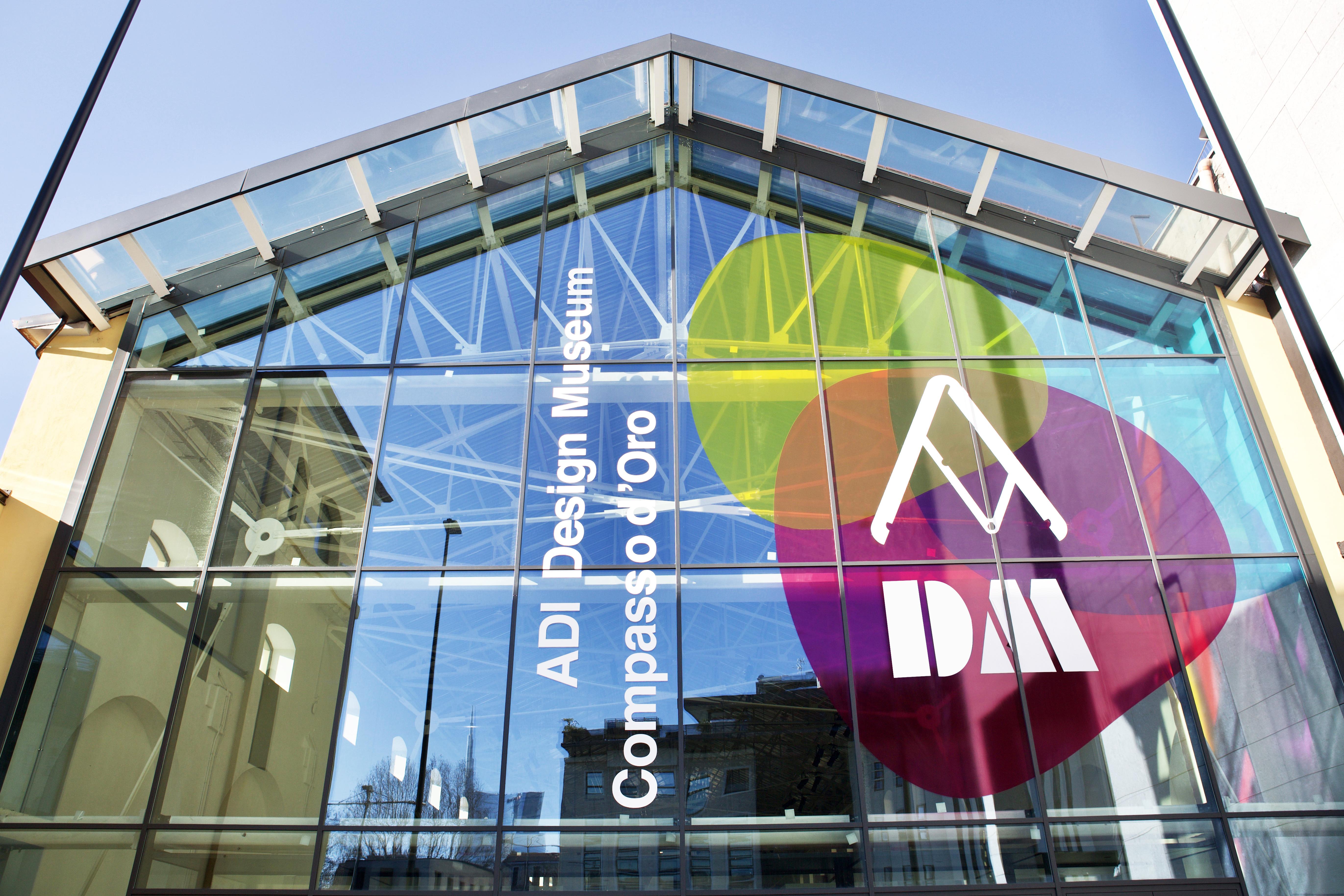 The facade of Milan's ADI Design Museum.