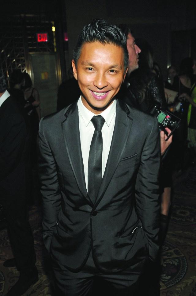 Prabal Gurung attends the 2009 FGI Night of Stars awards at Cipriani Wall Street.