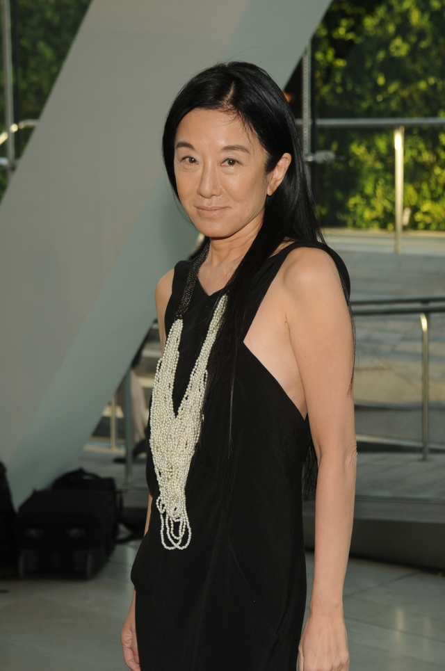 Designer Vera Wang attends the Council of Fashion Designers of America's 28th annual Fashion Awards at Lincoln Center's Alice Tully Hall.