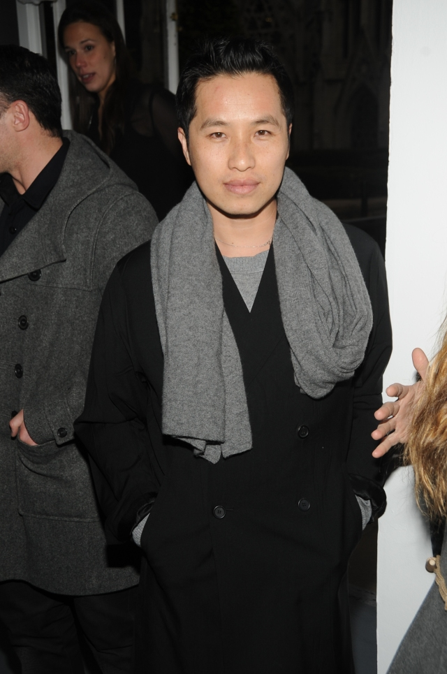 Designer Philip Lim attends the CFDA Nominees Cocktail Party at the rooftop at Rockefeller Center in New York City.