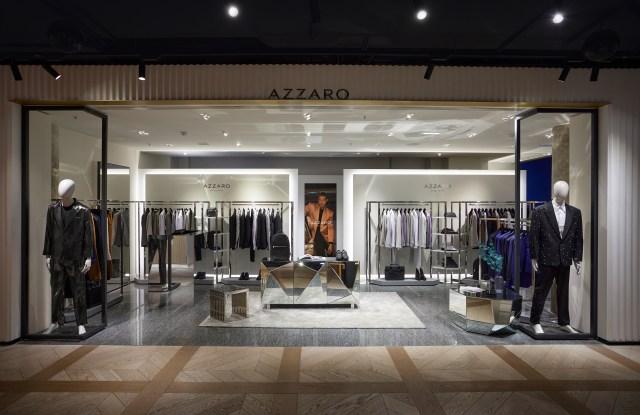 Azzaro Ateliers in Printemps Haussmann