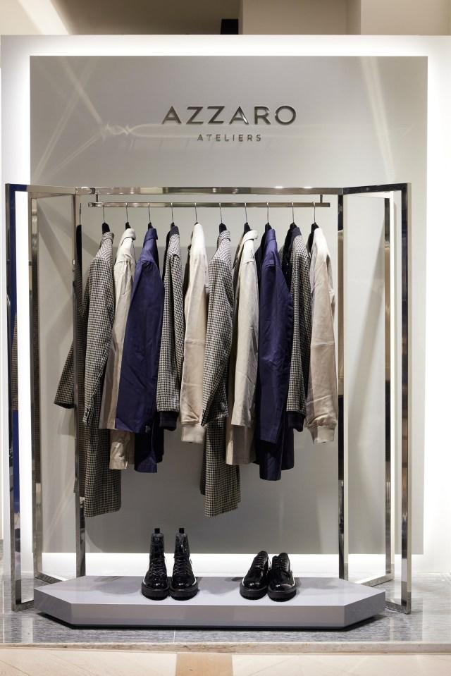 Inside Azzaro Atelier
