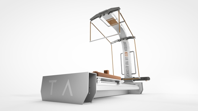 Tracy Anderson's Moto Air Pro Reformer, debuting at her East Hampton studio in July.