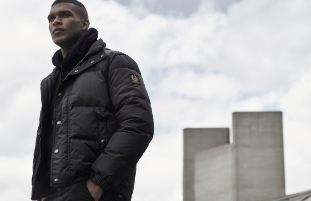 A look from Belstaff's fall 2021 collection.