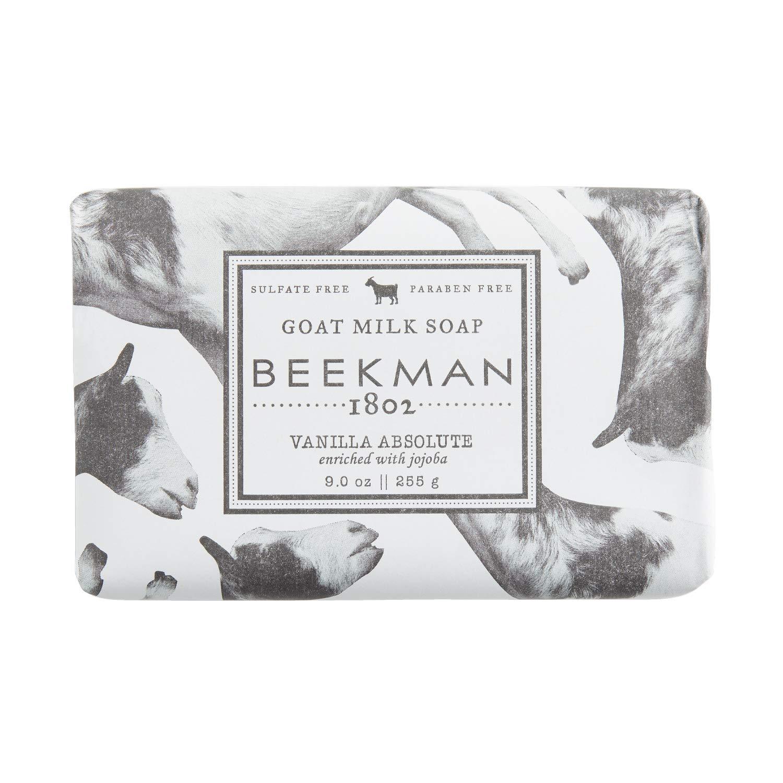 Beekman 1802 Vanilla Absolute Bar Soap, best natural bar soaps
