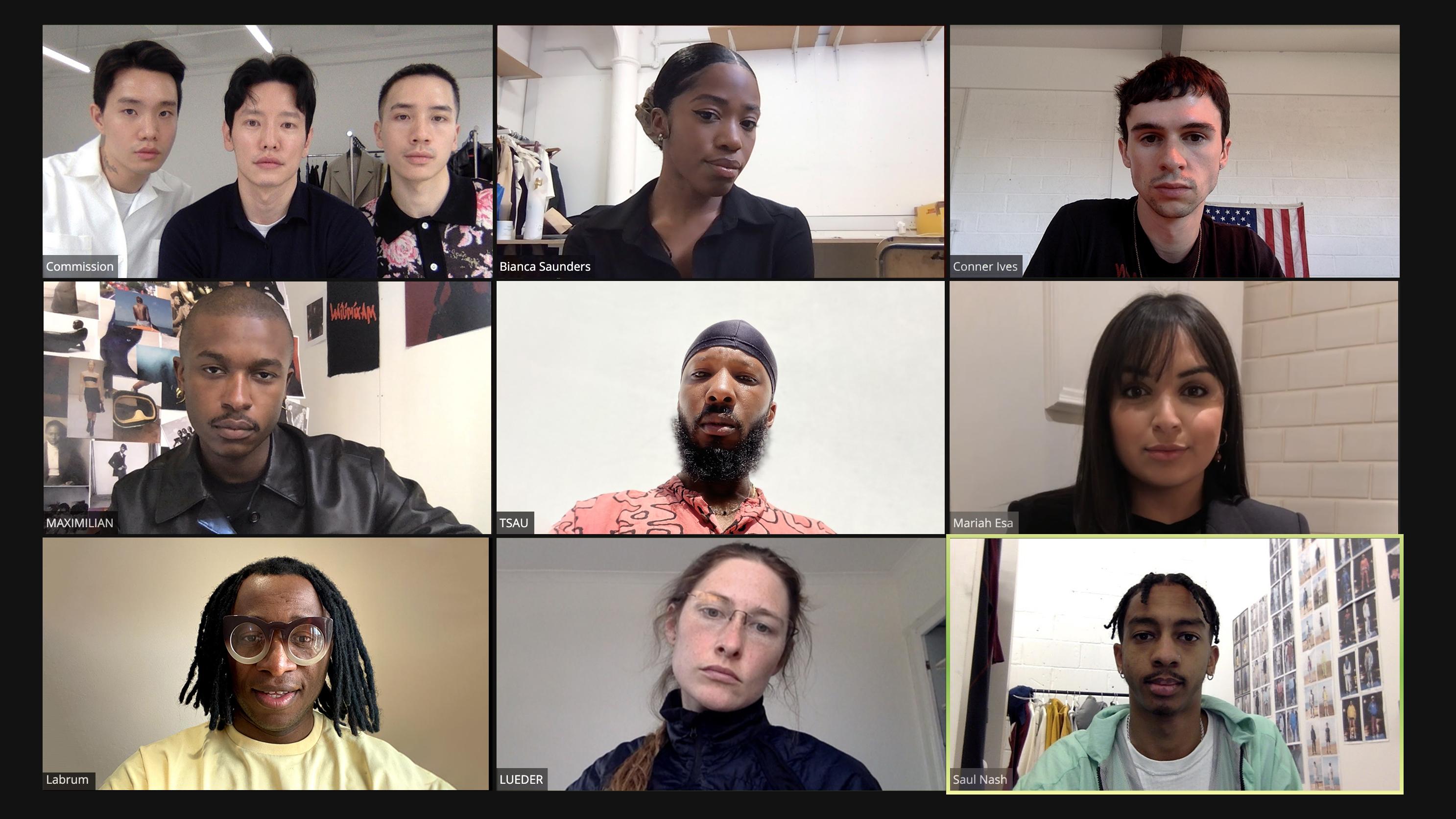 Browns Focus Series One featuring Conner Ives, Maximilian, Mariah Esa, Commission, Bianca Saunders, Labrum, Ludeur, Saul Nash and Tsau Store.