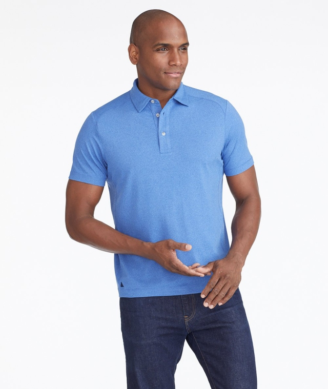 Untuckit's performance polo.