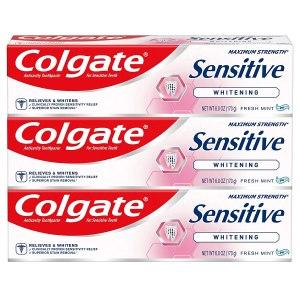 خمیر دندان سفیدکننده Colgate ، بهترین خمیر دندان برای دندان های حساس