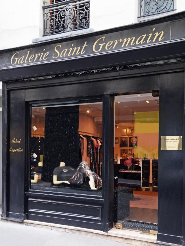 نمای بیرونی فروشگاه پمپوم در پاریس.