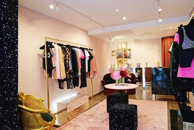 فضای داخلی فروشگاه پمپوم در پاریس.